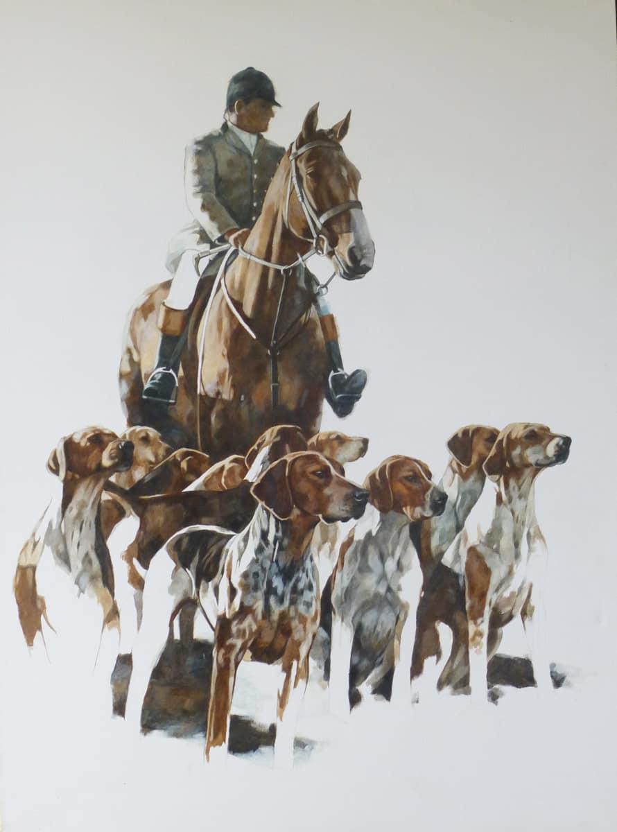 hunt portrait